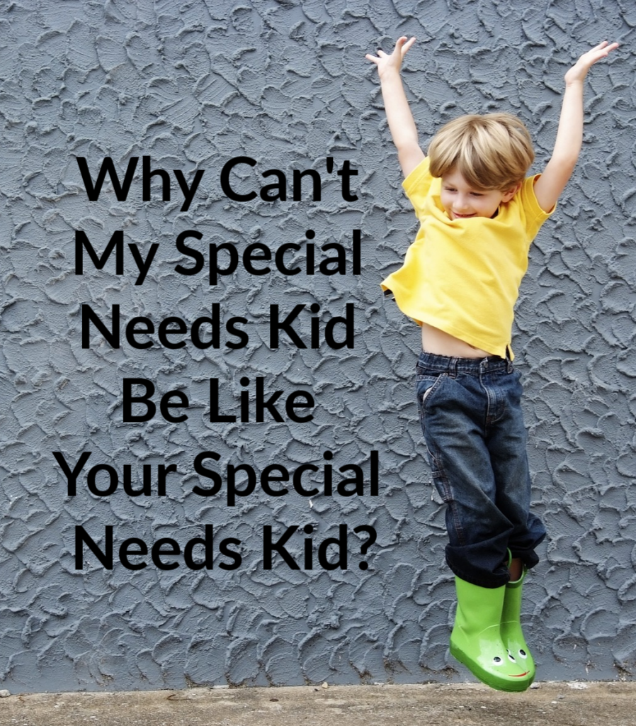 dfd9e74d9065 Is it awful to say that I'm jealous of some other special needs moms? Being  a parent of any special needs child is a struggle – I know that but I look  ...